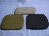 Deko-Platte schwarzbraun-schwarz