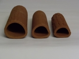 Cave size 5 triangular brown with pattern